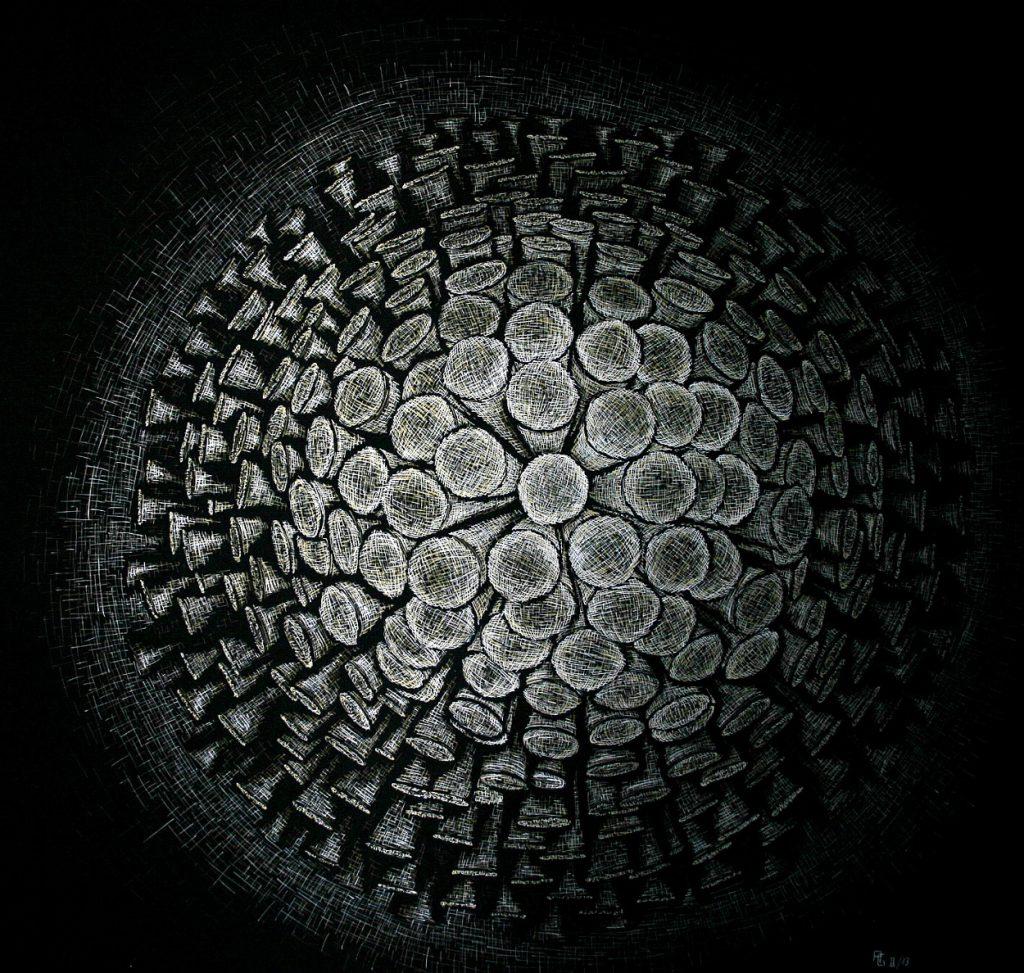 Licht-Tusche-auf-Fotokarton-70x70cm