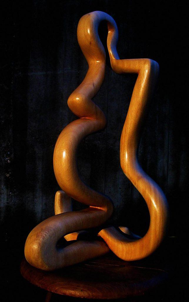 Schwangere, Abachi,72cm